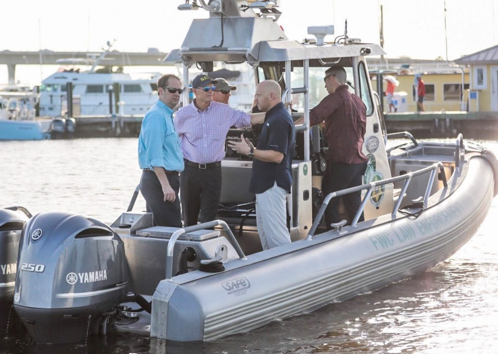 Gov. Scott tours St. Lucie River