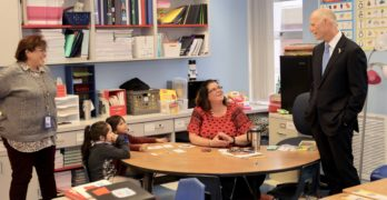Gov. Scott Welcomes Students Back to School at Tyndall Elementary
