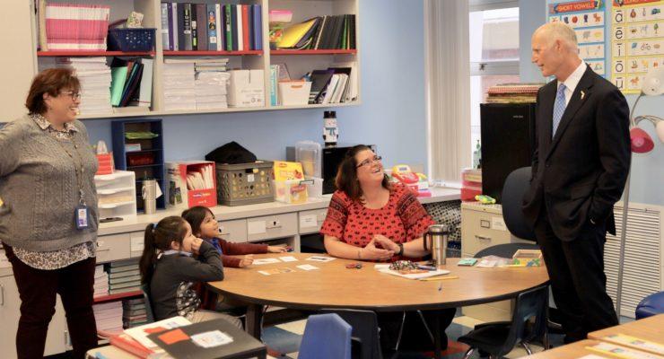 Gov. Scott at Tyndall Elementary