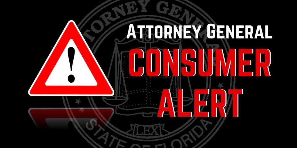 Attorney General's Consumer Alert Graphic