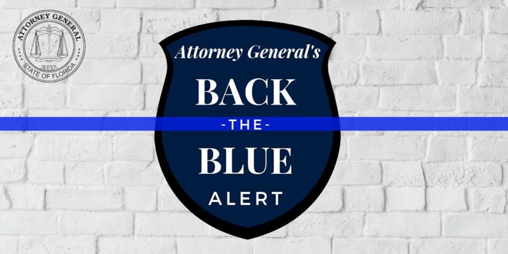 Back to the Blue Alert Logo