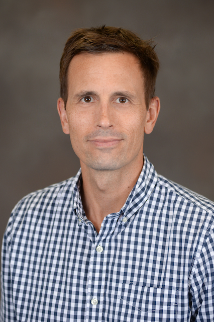 Headshot photograph of Dr. Mike Aspinwall