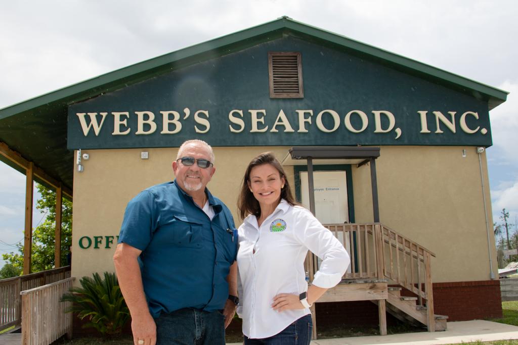 Robert Webb and Commissioner Nikki Fried.