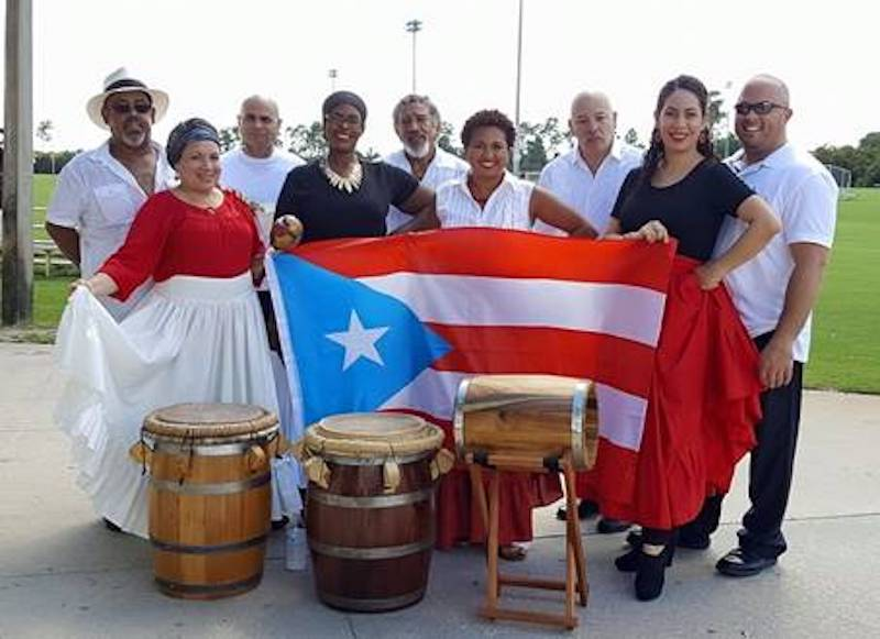 Taller Balancé Bomba Afro-Boricua. Photo courtesy of Angel Reyes Romero.