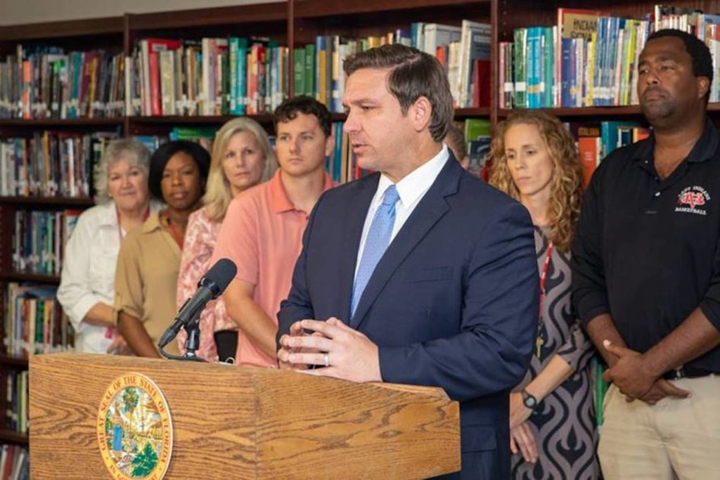 Governor Ron DeSantis announces a proposal that would replace the Best and Brightest bonus program with the new Florida Classroom Teacher and Florida School Principal Bonus Programs