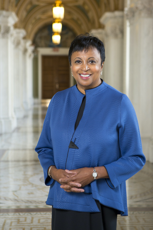 The 14th Librarian of Congress, Carla Hayden. Photo by Shawn Miller.