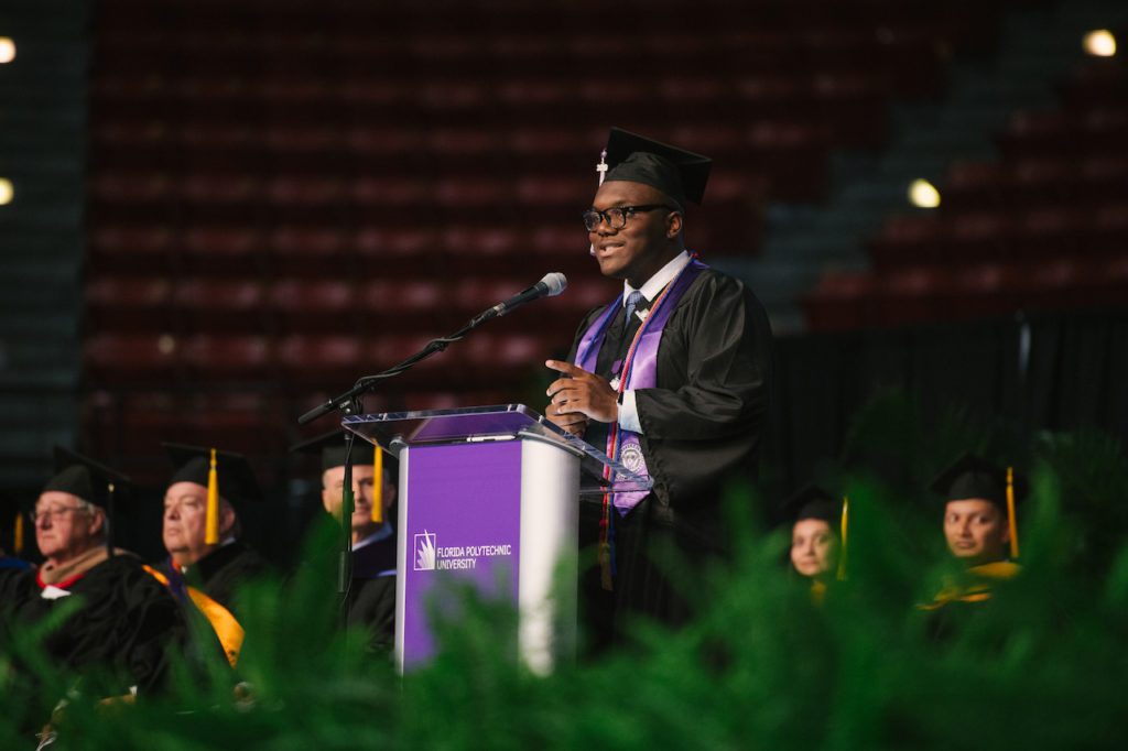 Spring 2019 Florida Polytechnic University Commencement.