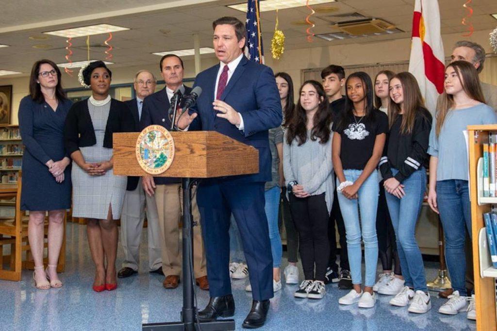 Governor Ron DeSantis announces new Civics and Debate Initiative