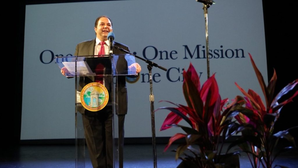 North Miami Beach Mayor Anthony DeFillipo delivers State of the City address