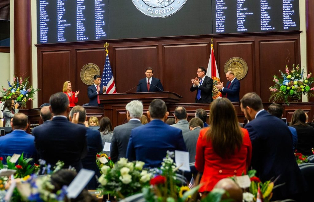 Governor Ron DeSantis delivers the 2020 State of the State address.