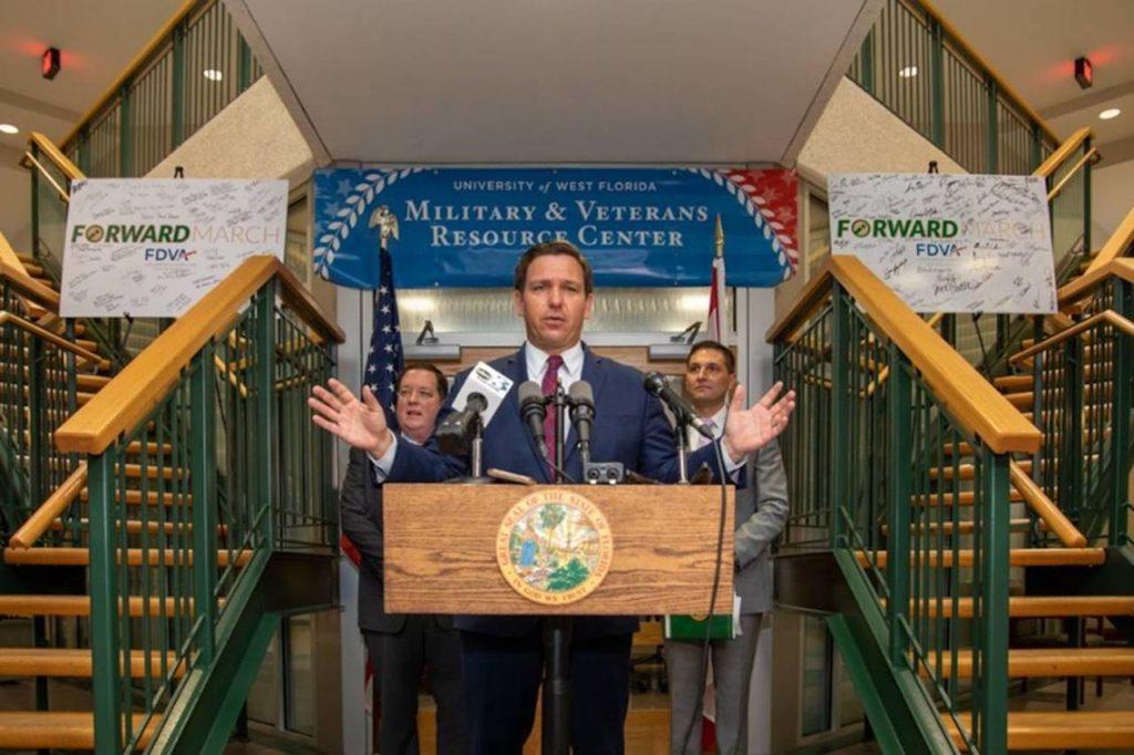 Governor Ron DeSantis makes Housing Loan Program announcement.